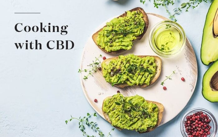 cbd avocado toast